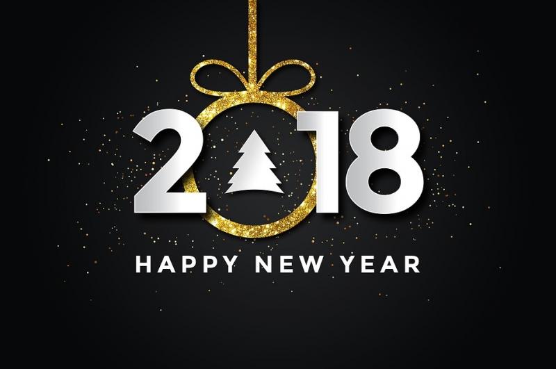 سال نو و فرارسیدن ۲۰۱۸ بر شما فرخنده باد