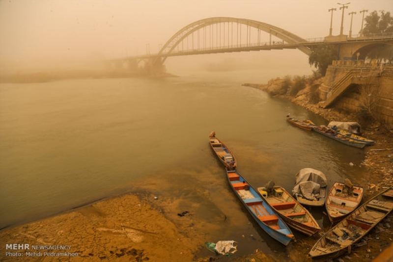 آلبوم عکس: آب و هوای اين روزهای اهواز