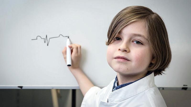 پسر نابغه بلژیکی در ۸ سالگی به دانشگاه میرود